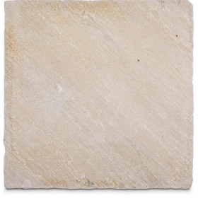 Tumbled Mint Sandstone Sample - 75x75x10mm Sample