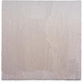 Tumbled Raj Green Sandstone Sample - 75x75x10mm Sample