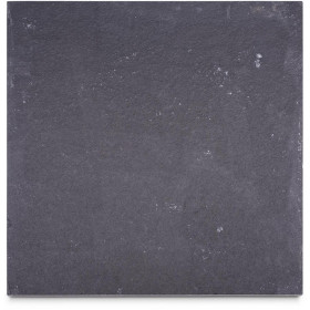 Midnight Black Limestone Sample - 75x75x10mm Sample