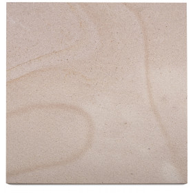 Golden Sawn Sandstone Sample - 75x75x10mm Sample
