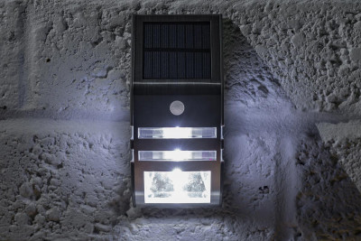 Solar LED Security Wall Light 50 Lumen