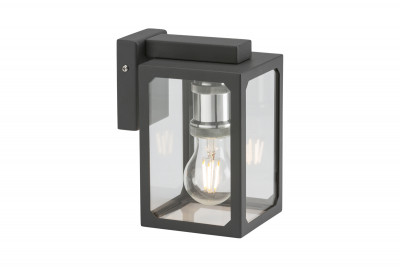 Anthracite Square Stainless Steel Lantern