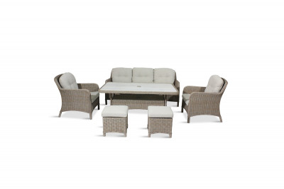 Bergen Lounge Dining Set