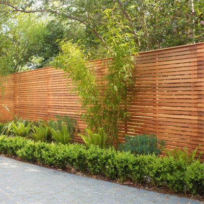 Slatted Bevel Edged Fence Panels