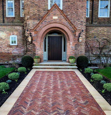 Old English Clay Pavers