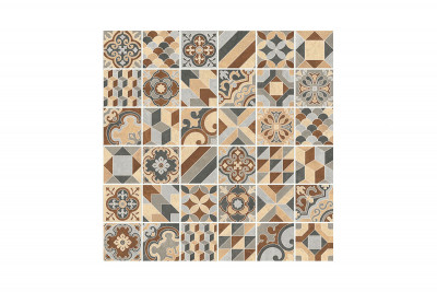 Cementina Mix Patterned Outdoor Tiles
