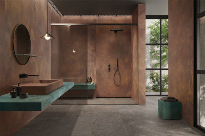 Copper Porcelain Tiles