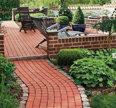 Delta Red Clay Pavers