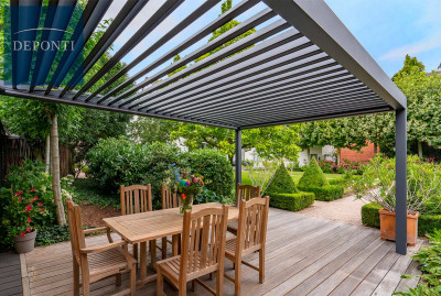 Pinela Louvered Roof
