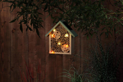 Solar LED Insect House
