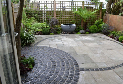 Natural Black Granite Setts