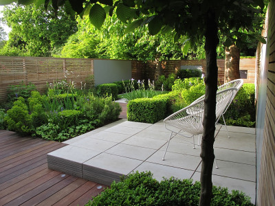 Contemporary Grey Smooth Sandstone Paving