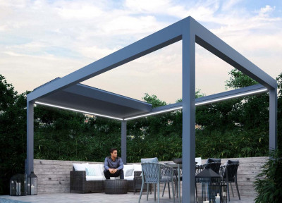 Pinela Deluxe Louvered Roof With Lights