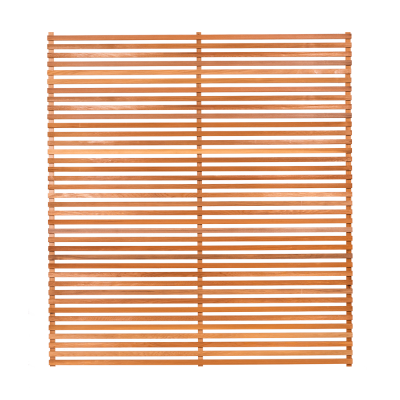 Slatted Open Fence Panels