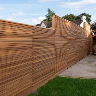 Privacy Slim Fence Panels