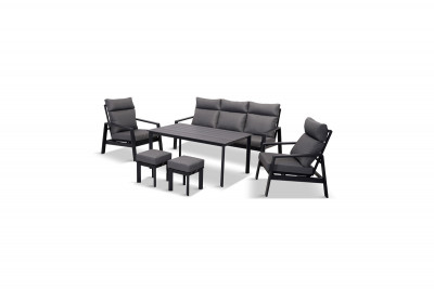 Santorini Dusk Lounge Dining Set