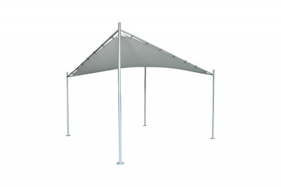3.5m Shade Sail Grey