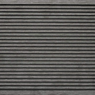 Dark Ash Grooved Composite Decking