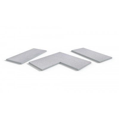 Beola Bianca Porcelain 5mm Pencil Round Coping Stones