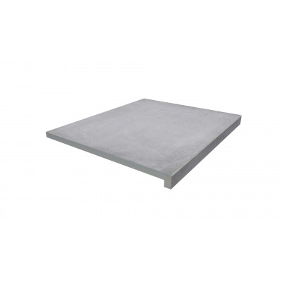 Cement Porcelain 40mm Downstand Step