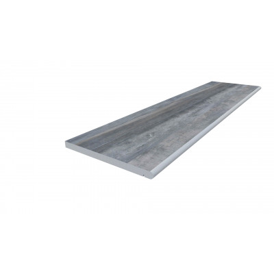 Cinder Porcelain 20mm Bullnose Step