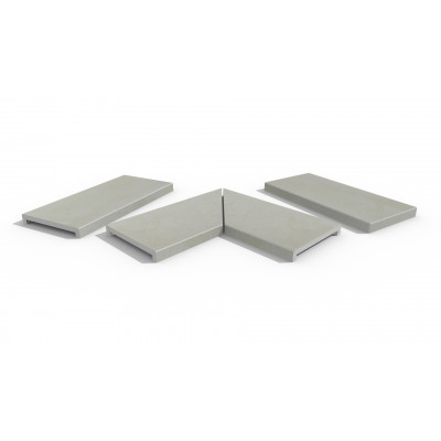 Comblanchien Porcelain 40mm Downstand Coping Stones