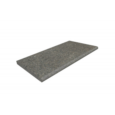 Dark Grey Granite Bullnose Step
