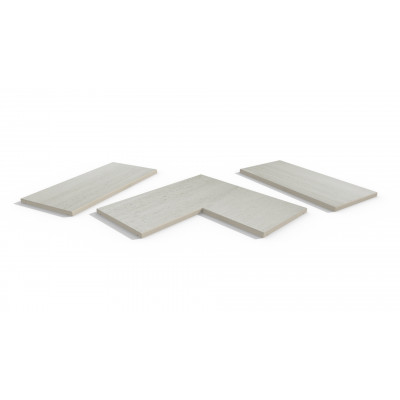 Faro Porcelain 5mm Chamfered Coping Stones