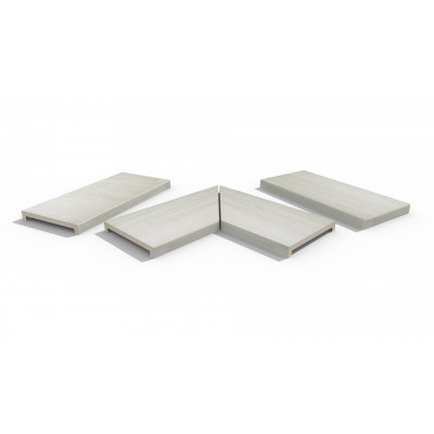 Faro Porcelain 40mm Downstand Coping Stones