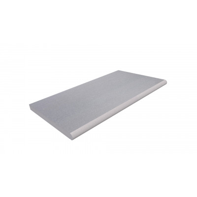 Flamed Grey Smooth Sandstone Bullnose Step