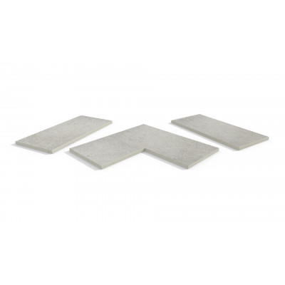 Florence Grey Porcelain 5mm Chamfered Coping Stones