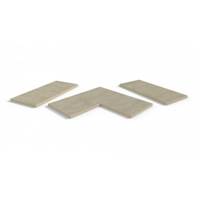 Gea Porcelain 5mm Chamfered Coping Stones