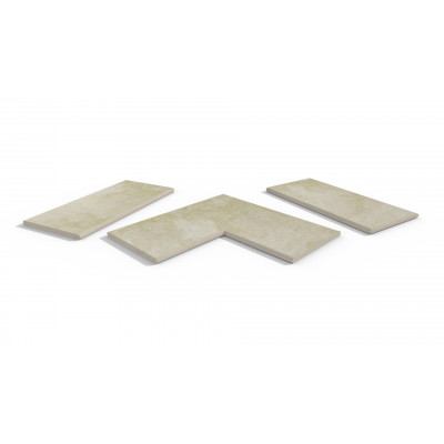 Gea Porcelain 20mm Bullnose Coping Stones