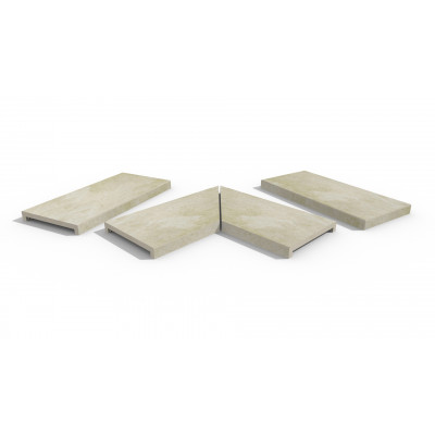 Gea Porcelain 40mm Downstand Coping Stones
