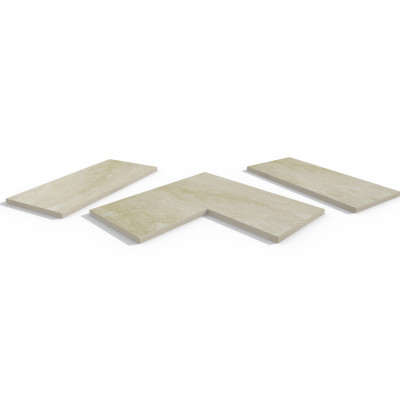 Gea Porcelain 5mm Pencil Round Coping Stones