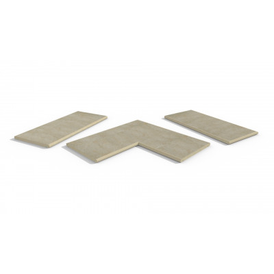 Golden Stone Porcelain 20mm Bullnose Coping Stones