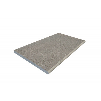 Grey Basalt Bullnose Step