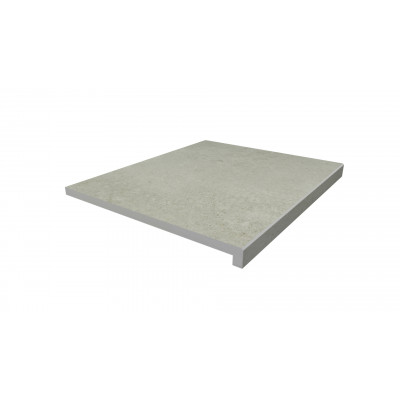 Light Grey Porcelain 40mm Downstand Step