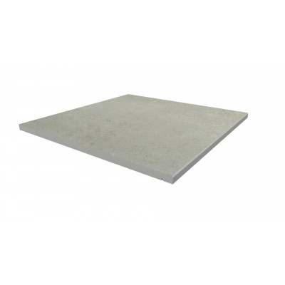 Light Grey Porcelain 5mm Chamfered Step