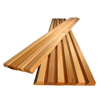 Red Cedar Battens Bevel Edge