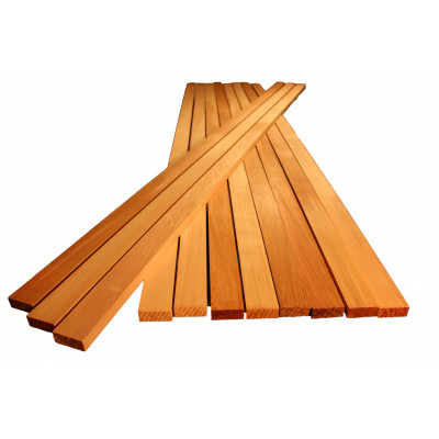 Red Cedar Battens Square Edge