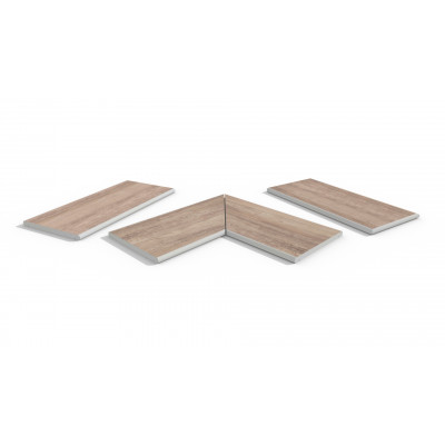 Rovere Porcelain 20mm Bullnose Coping Stones