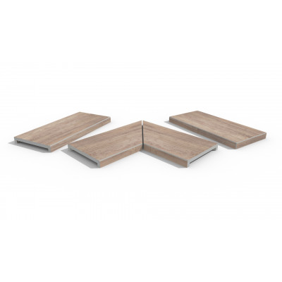 Rovere Porcelain 40mm Downstand Coping Stones