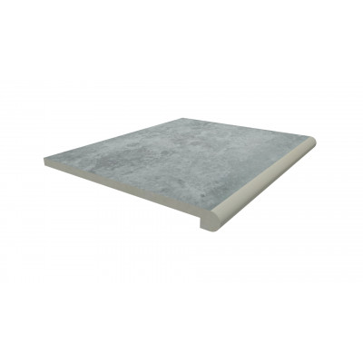 Silver Contro Porcelain 40mm Bullnose Step