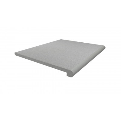 Urban Grey Porcelain 40mm Bullnose Step