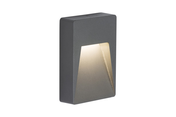 Anthracite Tall Rectangle Guide Light