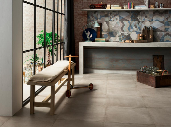Cement Porcelain Tiles