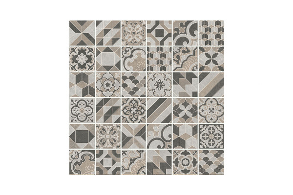 Image showing a mix of 36 different patterns