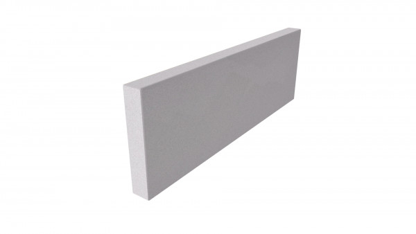 Image Displaying Contemporary Grey 600x200x40mm Edging
