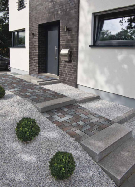 Delta Blue Brown Clay Pavers